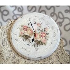 Мастер-класс «Часы в стиле шебби-шик»