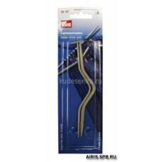 191101 Спицы для кос, сталь, 2,5*4 мм, упак./2 шт., Prym