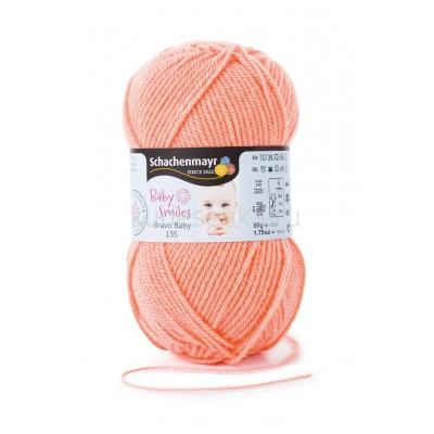 Пряжа Bravo Baby 135 - абрикосовый / apricot 01024