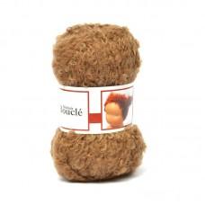 WIT.H04550 Кукольные волосы DE WITTE ENGEL 91% шерсть, 9% акрил, 50м/50г цв.загара