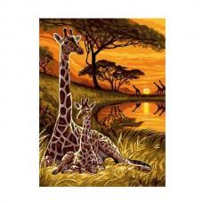 Картины по номерам Molly арт.EX5287 Сафари (21 Краска) 30х40 см