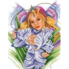 Набор для вышивания  арт.LANARTE-21861А 'Мать и дитя' 27,5х38,5 см