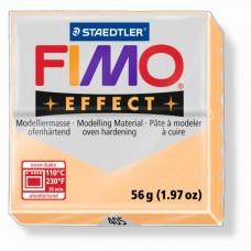 FIMO Effect полимерная глина, запекаемая в печке, уп. 56 гр. цвет: персик, арт.8020-405