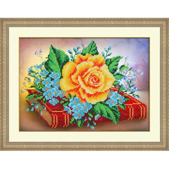 Паутинка вышивка бисером цветы 26