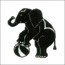 Набор для вышивания  арт.LANARTE-144522 'Слон' 13х13 см