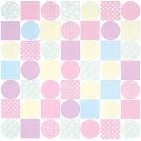 ЛО-ВФ010-МР Набор букв из чипборда 'Алфавит 2' Малыш цв.розовый