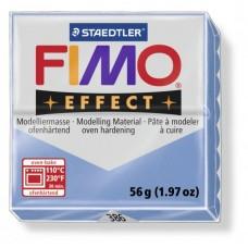 FIMO Double Effect полимерная глина, запекаемая в печке, уп. 56 гр. цв.голубой агат, арт. 8020-386