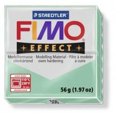 FIMO Effect полимерная глина, запекаемая в печке, уп. 56 гр. цвет: зеленый нефрит, арт. 8020-506