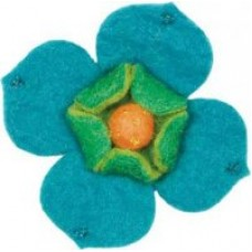 Войлок Цветок арт.DMS- 73301 кизила 10х12 см