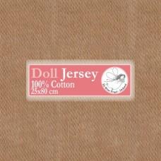 WIT.T10503 Телесный трикотаж для вальдорфских кукол DE WITTE ENGEL 25*80см цв.загар