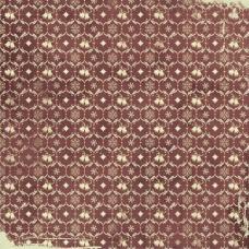 Бумага для скрапбукинга 'Мелодия рождества' арт.СРS006  2830 Звонкая метель 16,5х16,5см