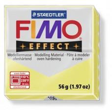 FIMO Effect полимерная глина, запекаемая в печке, уп. 56 гр. цвет: цитрин, арт. 8020-106