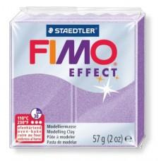 FIMO Effect полимерная глина, запекаемая в печке, уп. 56 гр. цвет: перламутр. лиловый, арт.8020-607