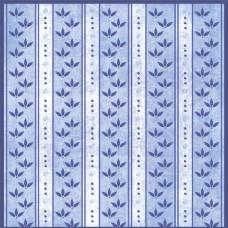 Бумага для скрапбукинга  'Гжель'   арт.CP02507  полосочки на голубом 30,5х30,5см   160г/м  одностор