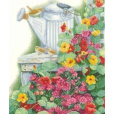 Набор для вышивания  арт.LANARTE-21534А 'Живущий сад' 28,5х38 см