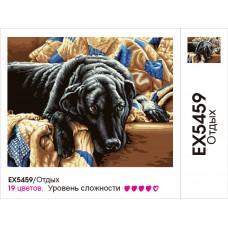 Картины по номерам Molly арт.EX5459 Отдых (19 Красок) 30х40 см