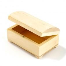 Деревянная заготовка из липы арт.ГМ 'Ларец' в ассортименте 14х9 см