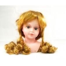 Волосы для кукол арт.КЛ.20106Р  П100 (локоны) цв.Р