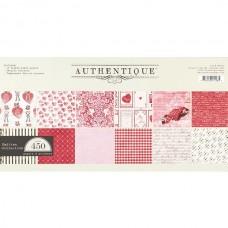 Набор бумаги арт. SMI014 30*30 см Smitten 12 листов 1 лист со стикерами 1 лист с вырубками