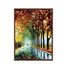 Картины по номерам Molly арт.G128 Осень В Парке (29 Красок) 40х50 см