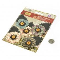 Бумажные цветы Stationer's Desk арт.575373 7,6 см 5 шт Озвучка