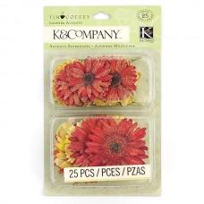 Стикеры-украшения арт.KCO-30-598560 Подсолнухи и ромашки, Теплый сад
