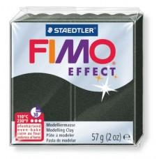 FIMO Effect полимерная глина, запекаемая в печке, уп. 57 гр. цвет: перламутровый черный арт.8020-907