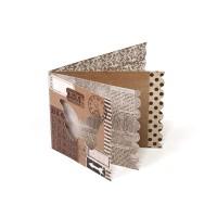 Мини-альбом арт.8003 бумага+картон
