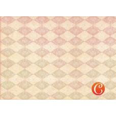 Декупажная карта арт.CH.015106 'Романтические ромбики'  формат А3