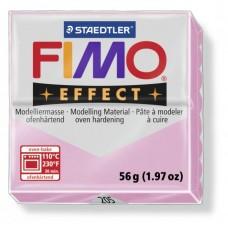 FIMO Effect полимерная глина, запекаемая в печке, уп. 56 гр. цвет: пастельно-розовый, арт.8020-205