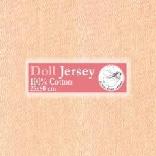 WIT.T10303 Телесный трикотаж для вальдорфских кукол DE WITTE ENGEL 25*80см цв.кожи