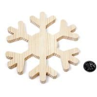 Новогодняя снежинка арт.CH.11068 'Шесть зимних лучиков'