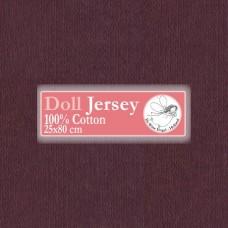 WIT.T10403 Телесный трикотаж для вальдорфских кукол DE WITTE ENGEL 25*80см цв.темно-коричневый