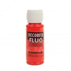 CFX.17888.11010 Corfix Декор.акрил. краски DECORFIX флуоресцентная FLUO 1010 оранж.дымка 60 м  Р