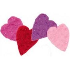 Войлок Сердечки арт.DMS- 73310 (10х10 см)