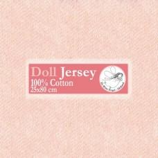 WIT.T10203 Телесный трикотаж для вальдорфских кукол DE WITTE ENGEL 25*80см цв.лосось