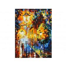 Живопись на картоне Белоснежка арт.БЛ.3028-CS Огни в ночи 30х40 см