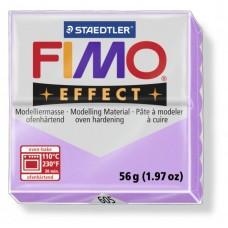 FIMO Effect полимерная глина, запекаемая в печке, уп. 56 гр. цвет: пастельно-лиловый, арт.8020-605
