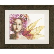 Набор для вышивания  арт.LANARTE-146587 'Фея' 39х28 см