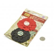 Бумажные цветы Stationer's Desk арт.575366 7,6 см 2 шт Ответ