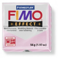 FIMO Effect полимерная глина, запекаемая в печке, уп. 56 гр. цвет: розовый кварц, арт.8020-206
