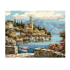 Картины по номерам Molly арт.EX5218 На заливе (21 Краска) 30х40 см