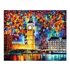 Картины по номерам Molly арт.G413 Лондон. Биг Бен (25 Красок) 40х50 см