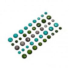 Камушки клеевые в наборе арт.8036 акрил