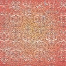 Бумага для скрапбукинга 'Мелодия рождества' арт.СРS009  2861 Камин 16,5х16,5см