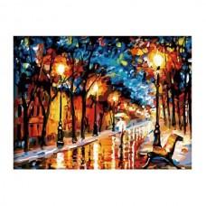 Картины по номерам Molly арт.G131 Осенний Вечер (30 Красок) 40х50 см