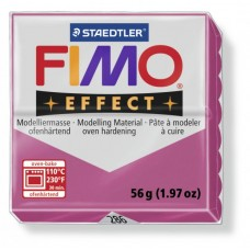 FIMO Effect полимерная глина, запекаемая в печке, уп. 56 гр. цвет: красный кварц, арт. 8020-286