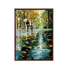 Картины по номерам Molly арт.G125 Под Дождем (30 Красок) 40х50 см