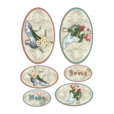 Декоративные наклейки арт.CH.09306 'Стиль и мода'