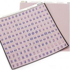 Бумага для скрапбукинга Vintage Design арт.SB-109 'Первая неделя Нового года' 30х30см 5 листов